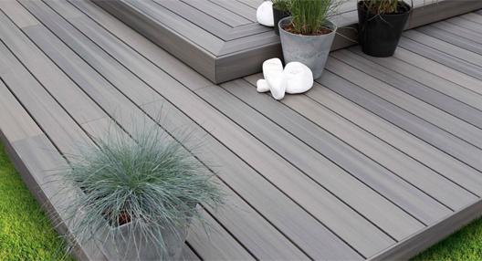 Terrasse bois composite à Rennes